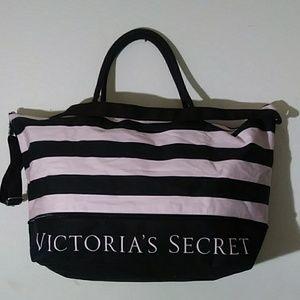 Victoria's Secret overnight XL adjustable Tote Bag